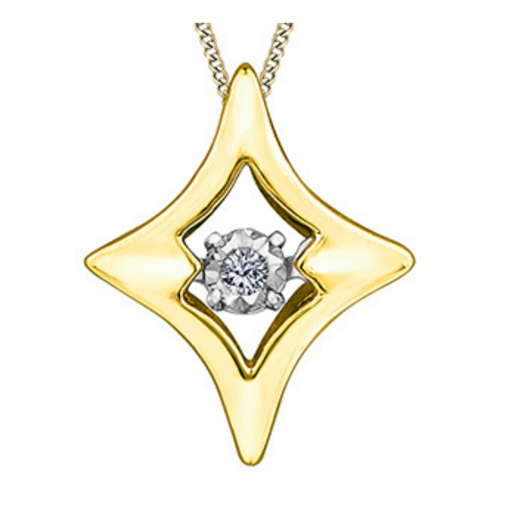 Illuminaire Dancing Diamond Star Pendant