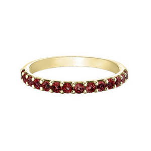 Chi Chi Collection - Garnet in Yellow Gold