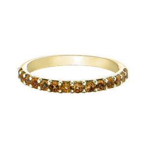Chi Chi Collection - Citrine in Yellow Gold