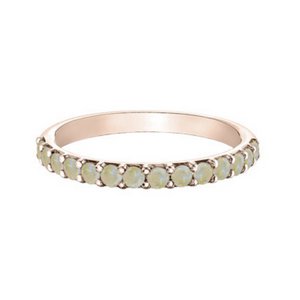 Chi Chi Collection - Opal in Rose Gold Ring