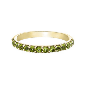 Chi Chi Collection - Peridot in Yellow Gold
