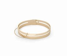 Rosefield Watches - Double Bar Bangle - Nasselquist Jewellers