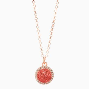 Hillberg & Berk - Sparkle Ball Halo Necklace Pendant - Nasselquist Jewellers