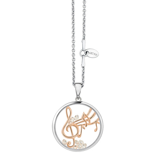 Astra Jewellery - Happy Melody Charm Necklace - Nasselquist Jewellers