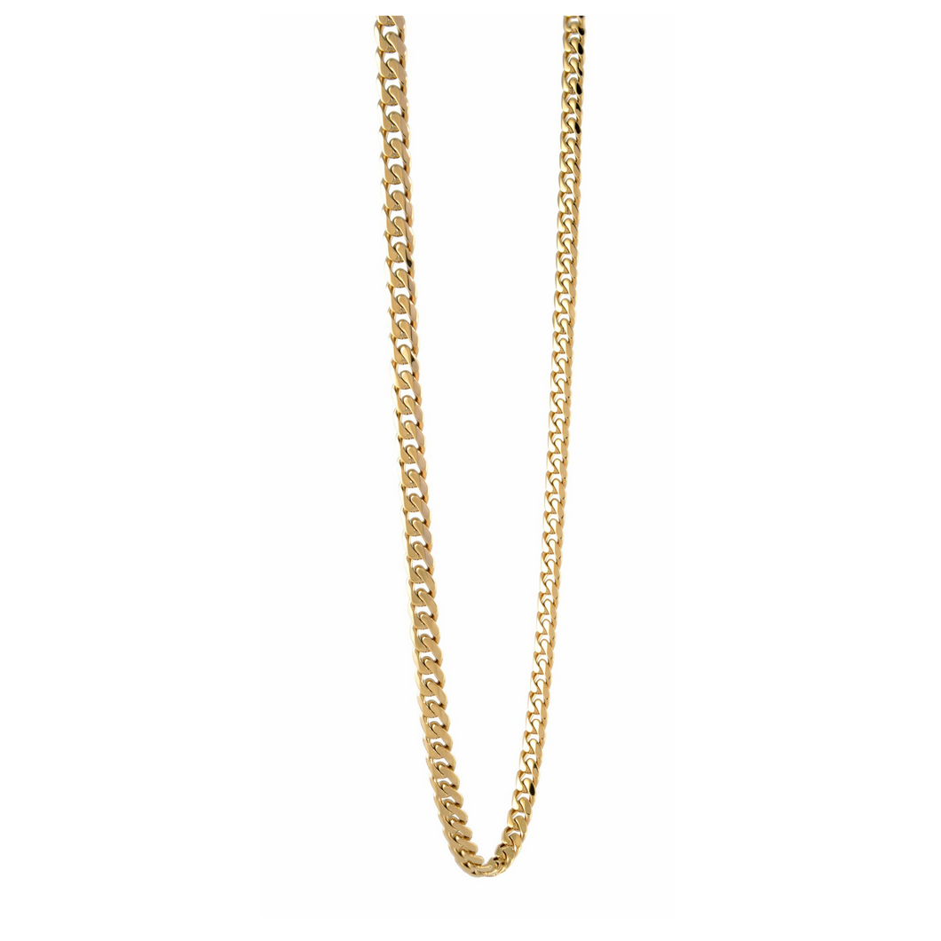 ITALGEM - Gold Plated Steel Curb Chain