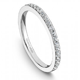 Noam Carver - Diamond Engagement Ring with Side Diamonds (BAND SOLD SEPARATELY) - Nasselquist Jewellers