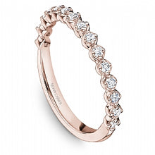 Load image into Gallery viewer, Noam Carver - Round Engagement Ring Rose Gold (BAND SOLD SEPARATELY) - Nasselquist Jewellers