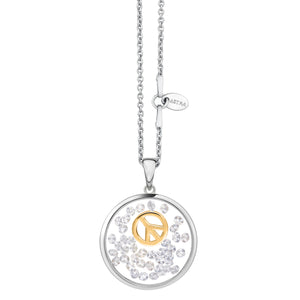 Astra Jewellery - Peace Charm Necklace - Nasselquist Jewellers