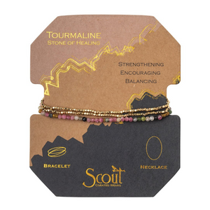Scout - Delicate Stone Tourmaline (Stone of Healing)
