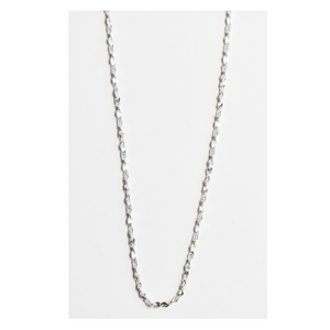 Silver Chain Fancy Link Ladies