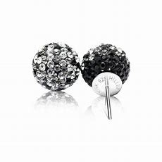 Hillberg & Berk - Sparkle Ball Stud Earrings - Nasselquist Jewellers