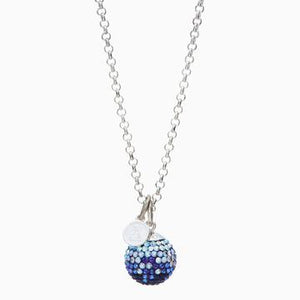 Hillberg & Berk - Sparkle Ball Long Necklace Pendant - Nasselquist Jewellers