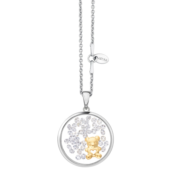 Astra Jewellery - Teddy Bear Charm Necklace - Nasselquist Jewellers