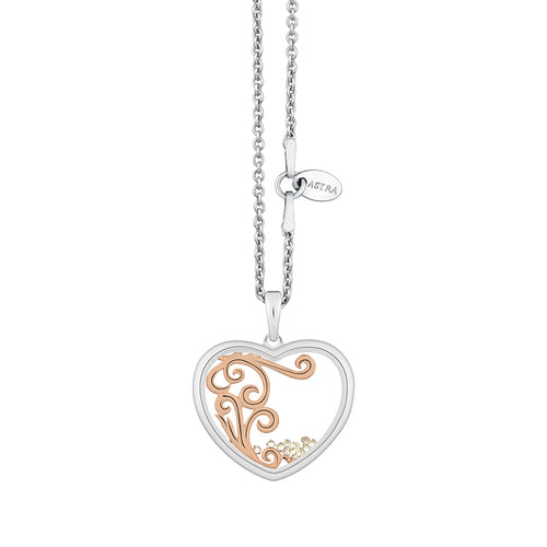 Astra Jewellery - Wild at Heart Charm Necklace - Nasselquist Jewellers