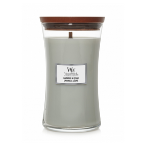 WoodWick Candles - Lavender & Cedar