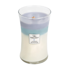 Load image into Gallery viewer, WoodWick Trilogy Candles - Calming Retreat