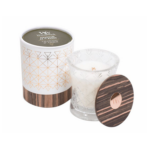 WoodWick Candles - Charcoal & Amber