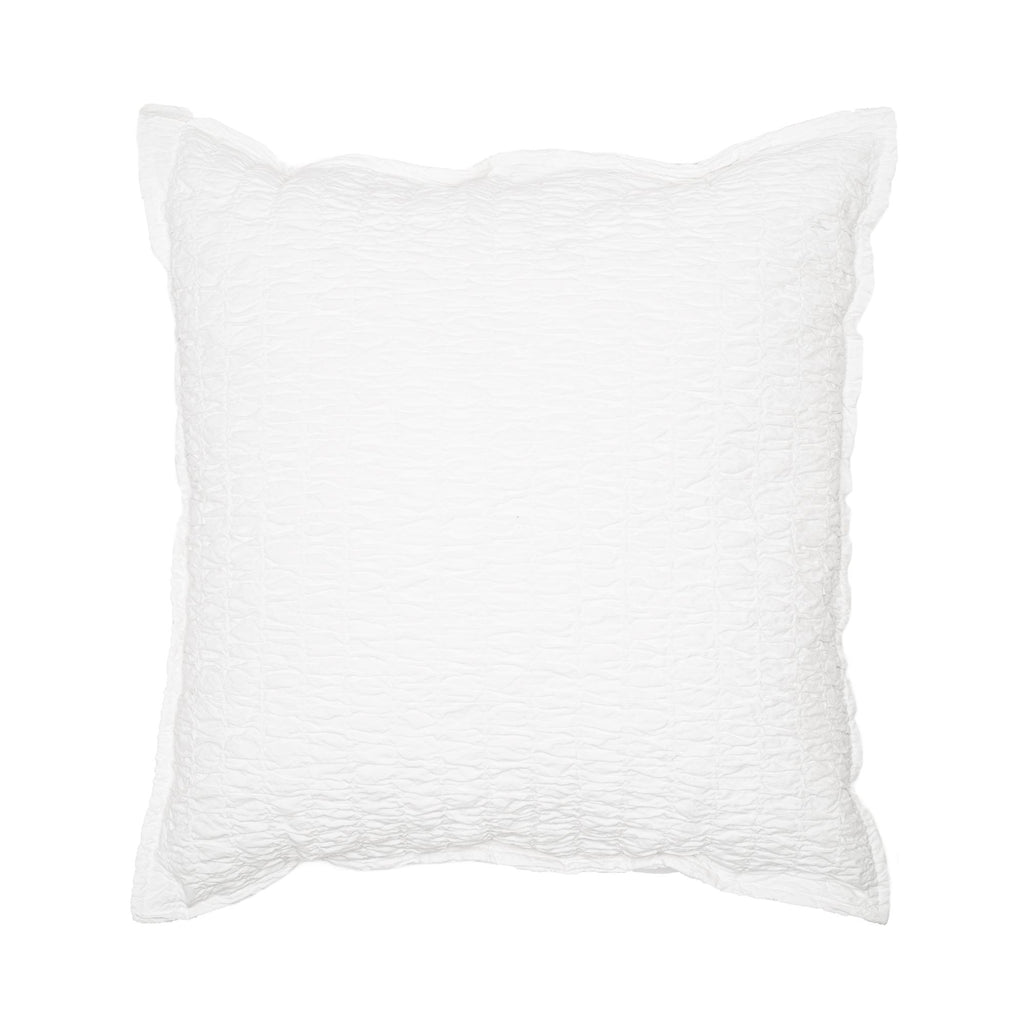 The Ada pillow cover is a matching cover to the Ada bed cover. This high quality 100% stone washed jacquard cotton cushion cover has an hiding zipper on the back.