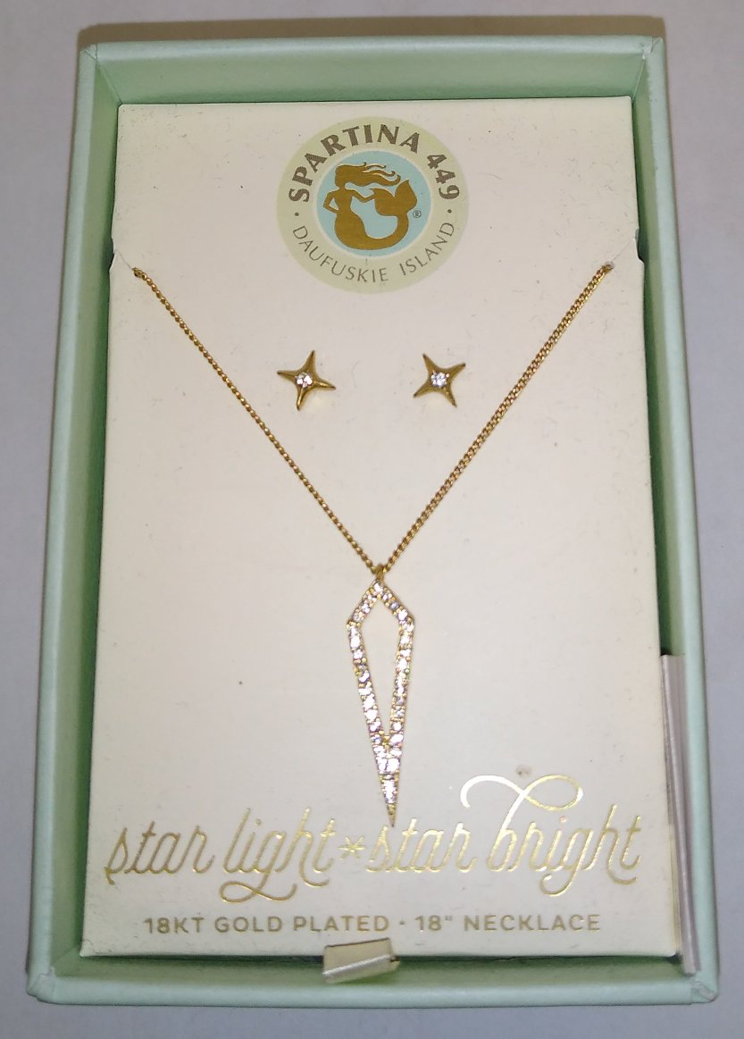 Spartina Necklace & Earring Set