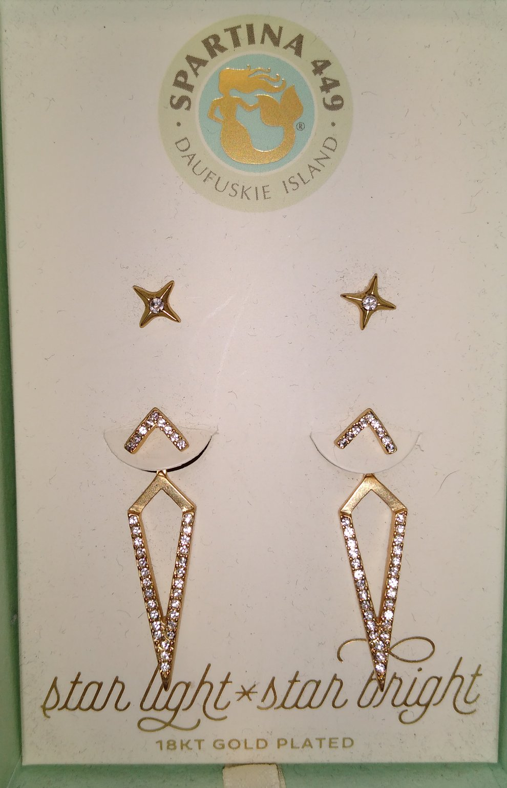 Spartina Starlight Earring Jacket Set