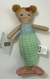 MPie Mermaid Rattle Doll