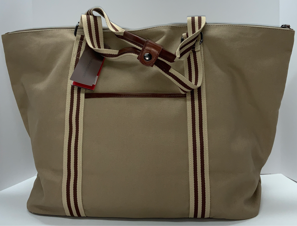 Baekaard Canvas Tom Zipper Tote