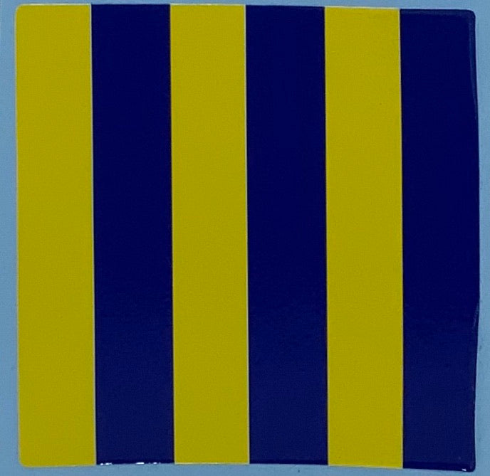 "1"" Code Flag Decal"