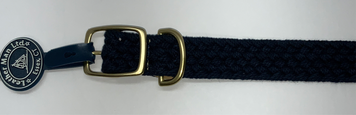 LM Dog Collar Macrame