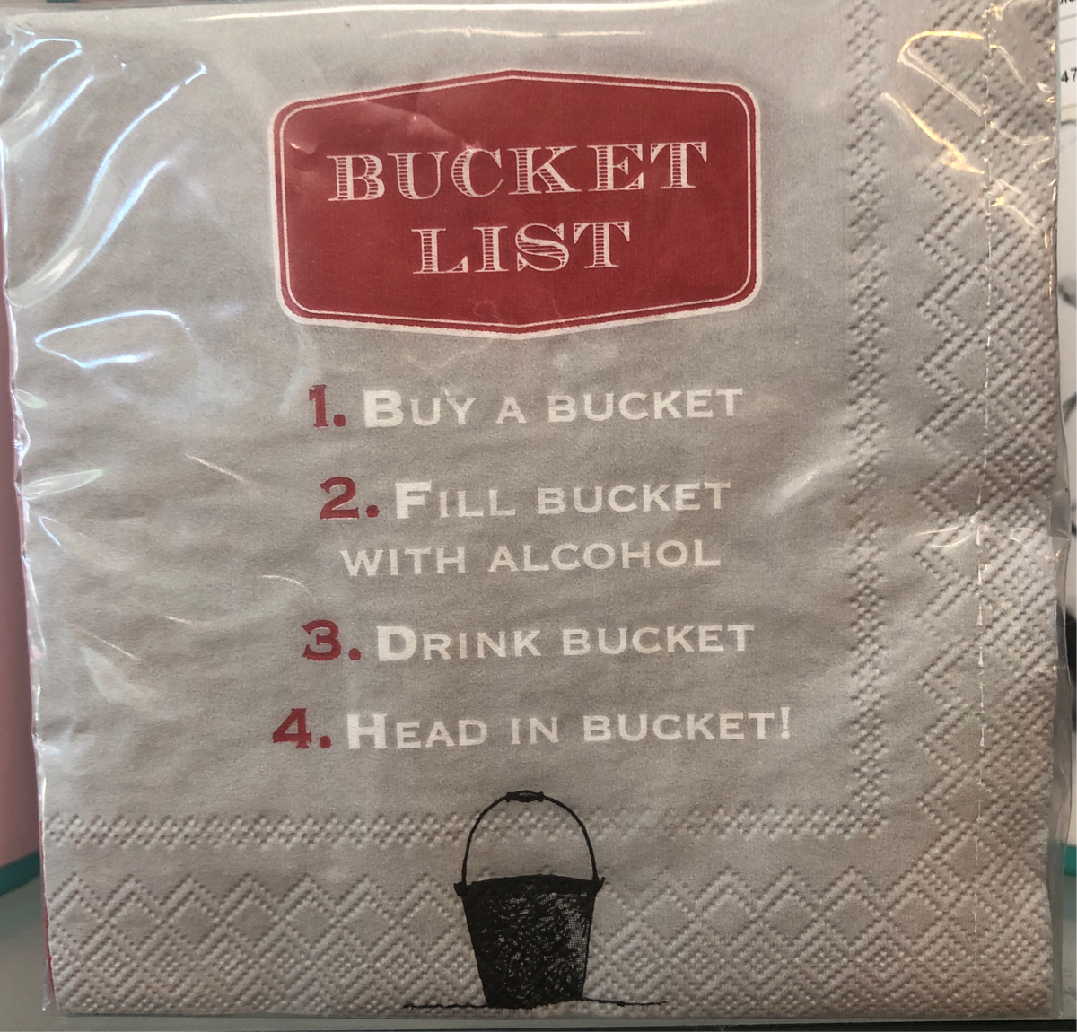 DD Bucket List