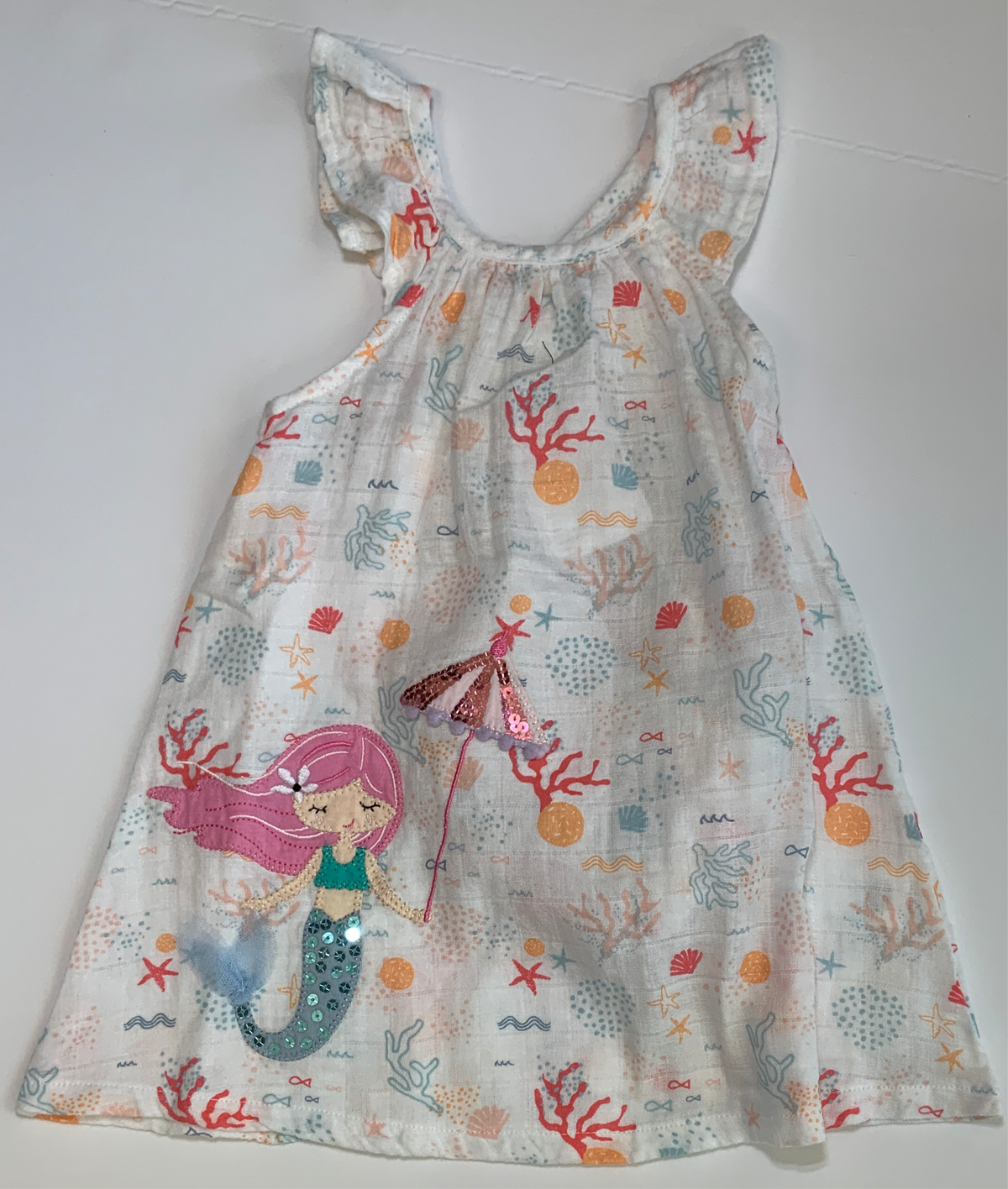 MPie Mermaid Dress Muslin Applique Dress