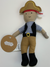 MPie Pirate Rattle Doll  Hook