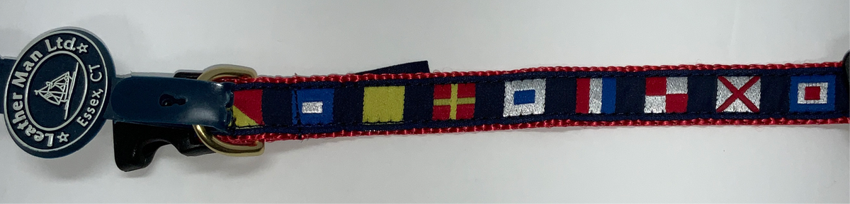 LM .75 Dog Collar Mini Code Flags