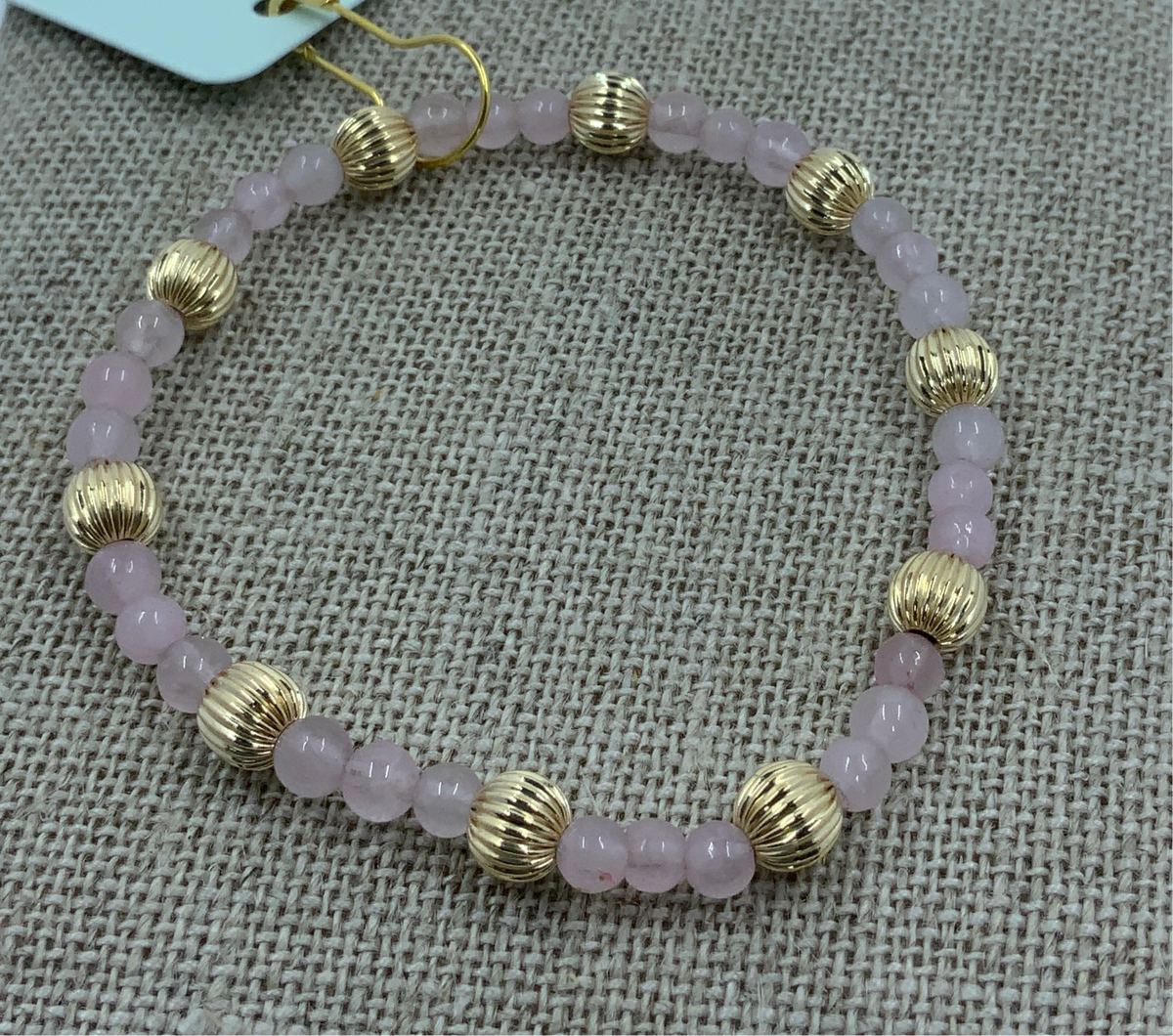 Rose Quartz Sincerity Bracelet