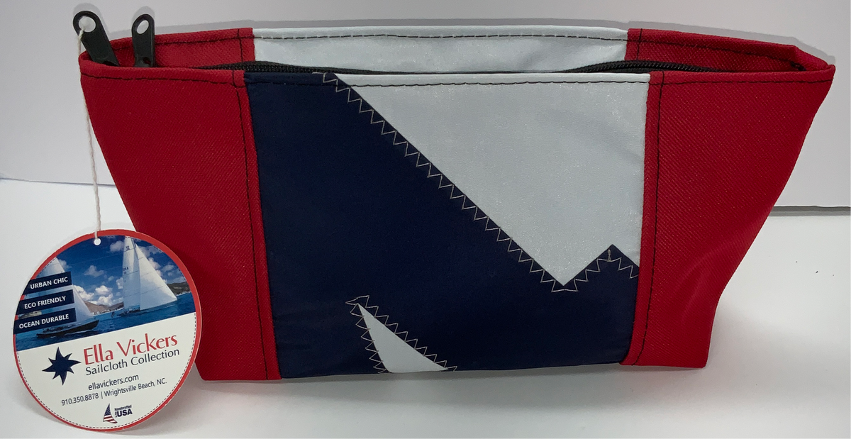 Ella Vickers Sailcloth Personal Bag