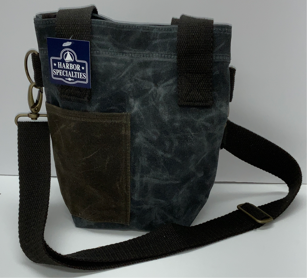 CBS Waxed Canvas Wine Tote