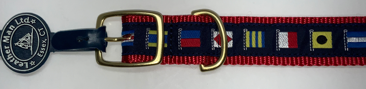 LM Dog Collar Code Flags