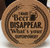 I Make Beer Disappear. What's Your Superpower? Coaster