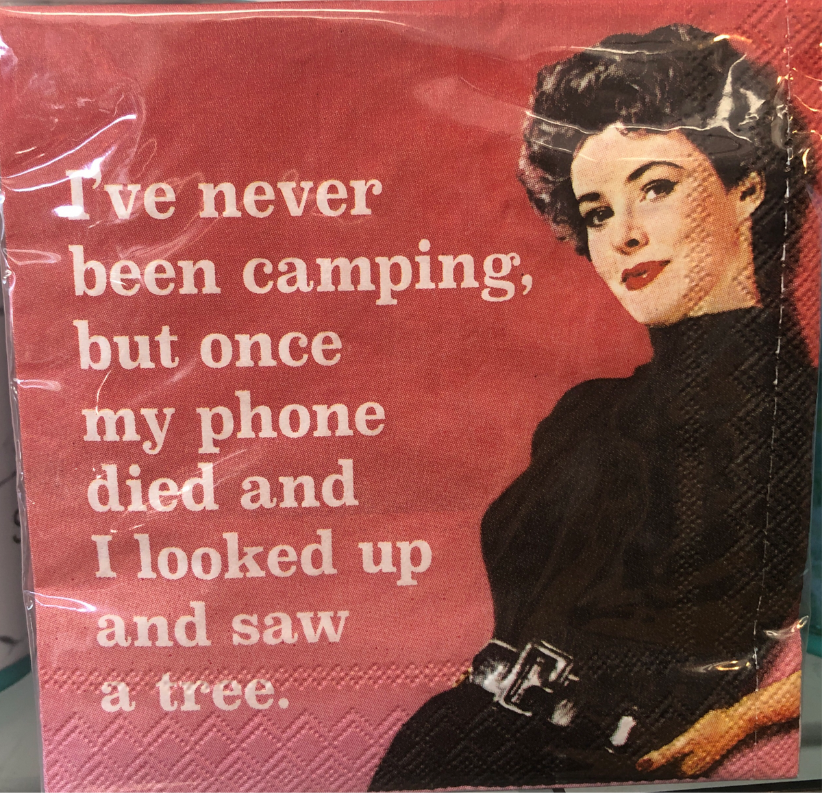 DD Never Been Camping