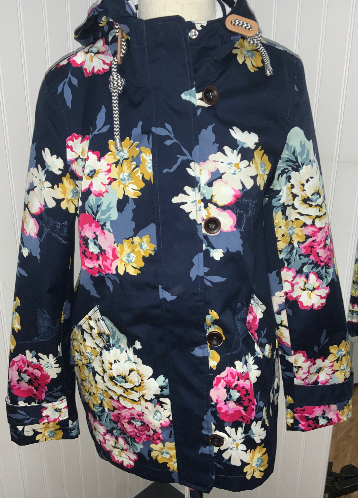 Joules Coast Print Jacket