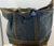 Waxed Canvas Boat Tote