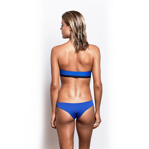Brazilian Cut Bum - Electric Blue