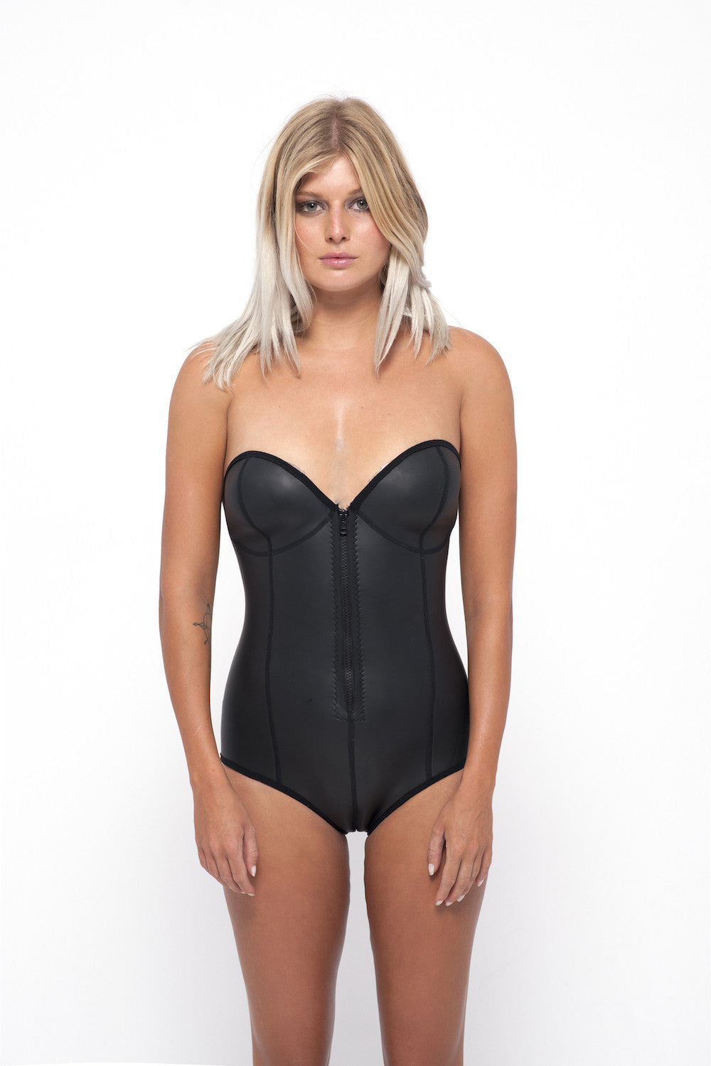 Nikki Wonder Suit- Black Smoothy