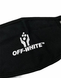 Off White Hand Icon Face Mask