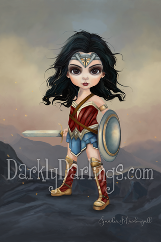 wonder woman cute diana