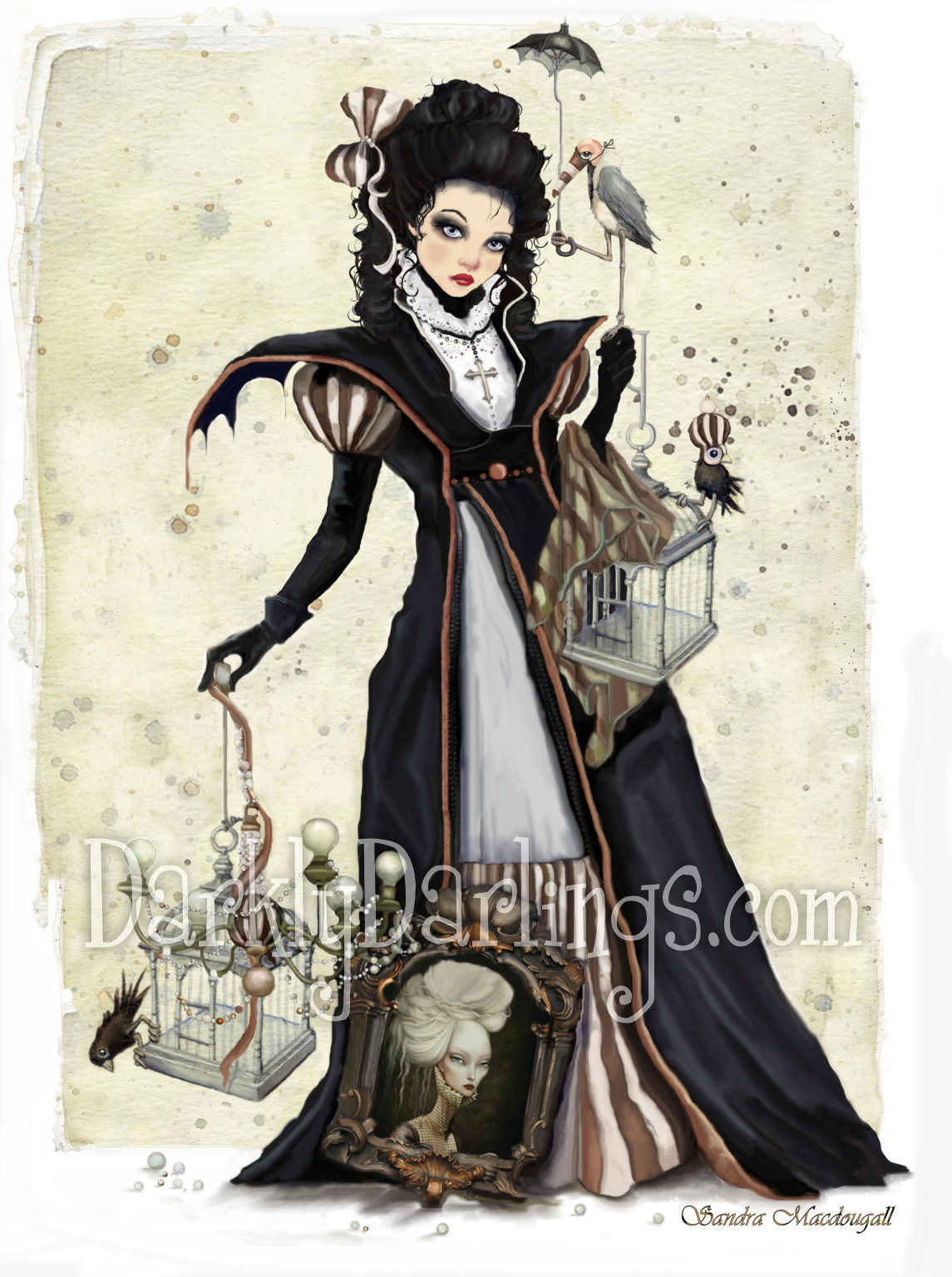 Victorian Gothic lady
