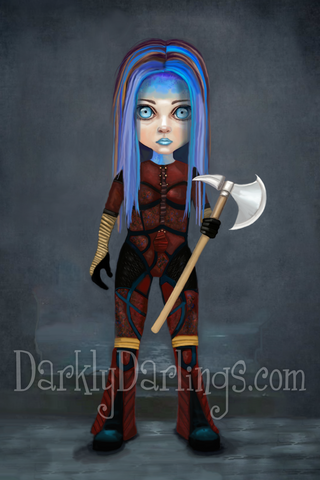 Illyria from Joss Whedon's Angel