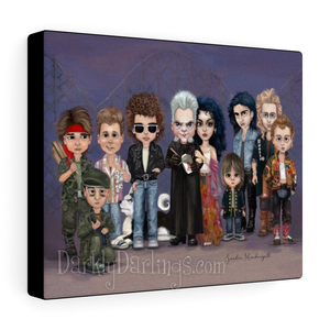 Santa Carla 8x10 Canvas Wrap