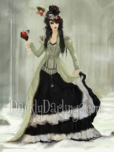 Victorian inspired Snow White