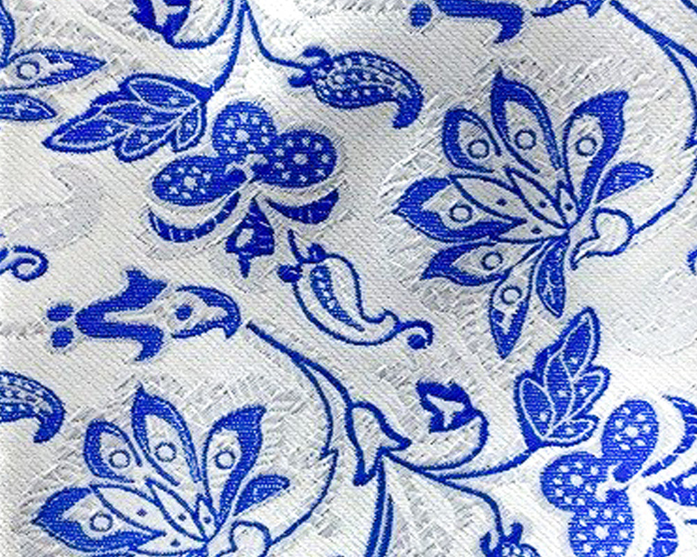 blue paisley swatch