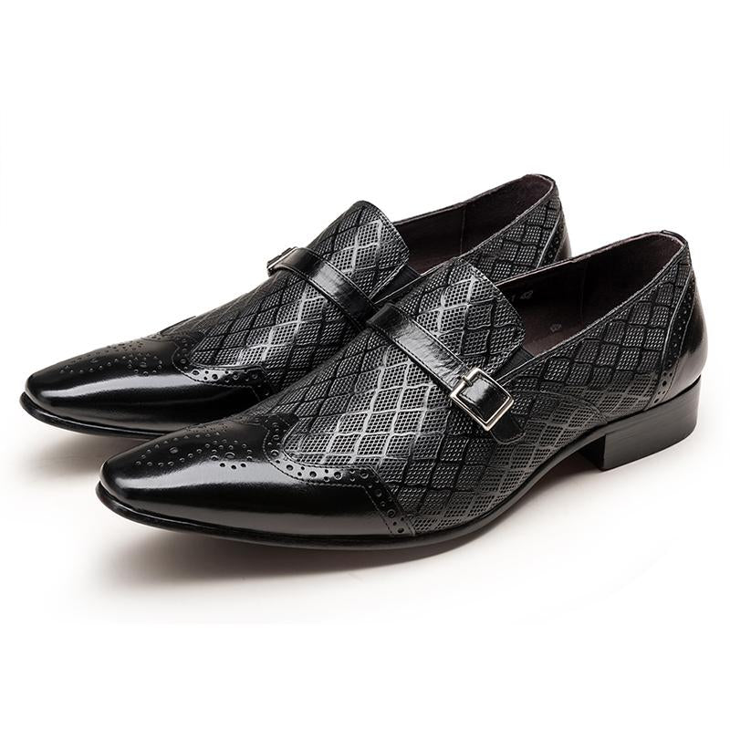 Single Monk Loafer - Black